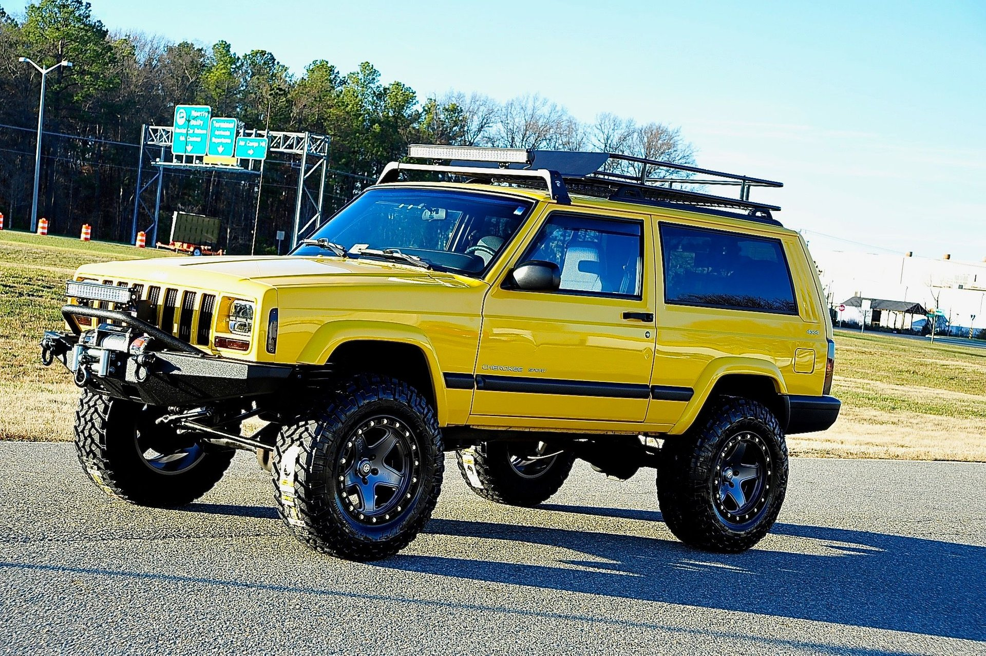 2001 jeep cherokee stage 4