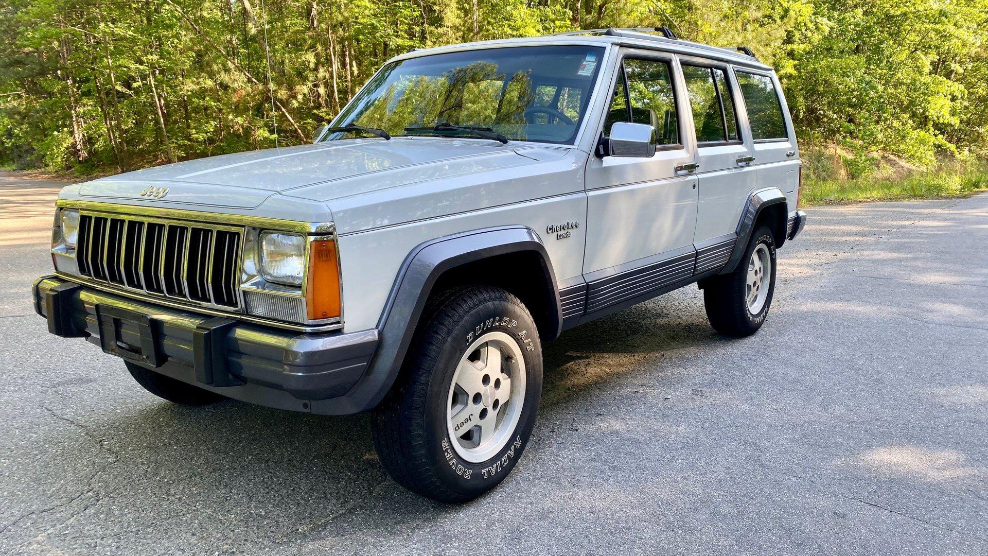 1991 jeep cherokee 4dr wagon laredo 4wd