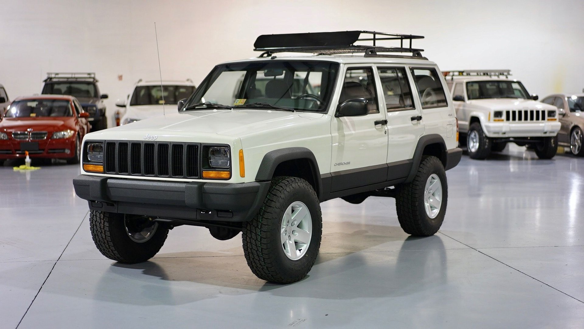 2000 jeep cherokee stage 2 sport