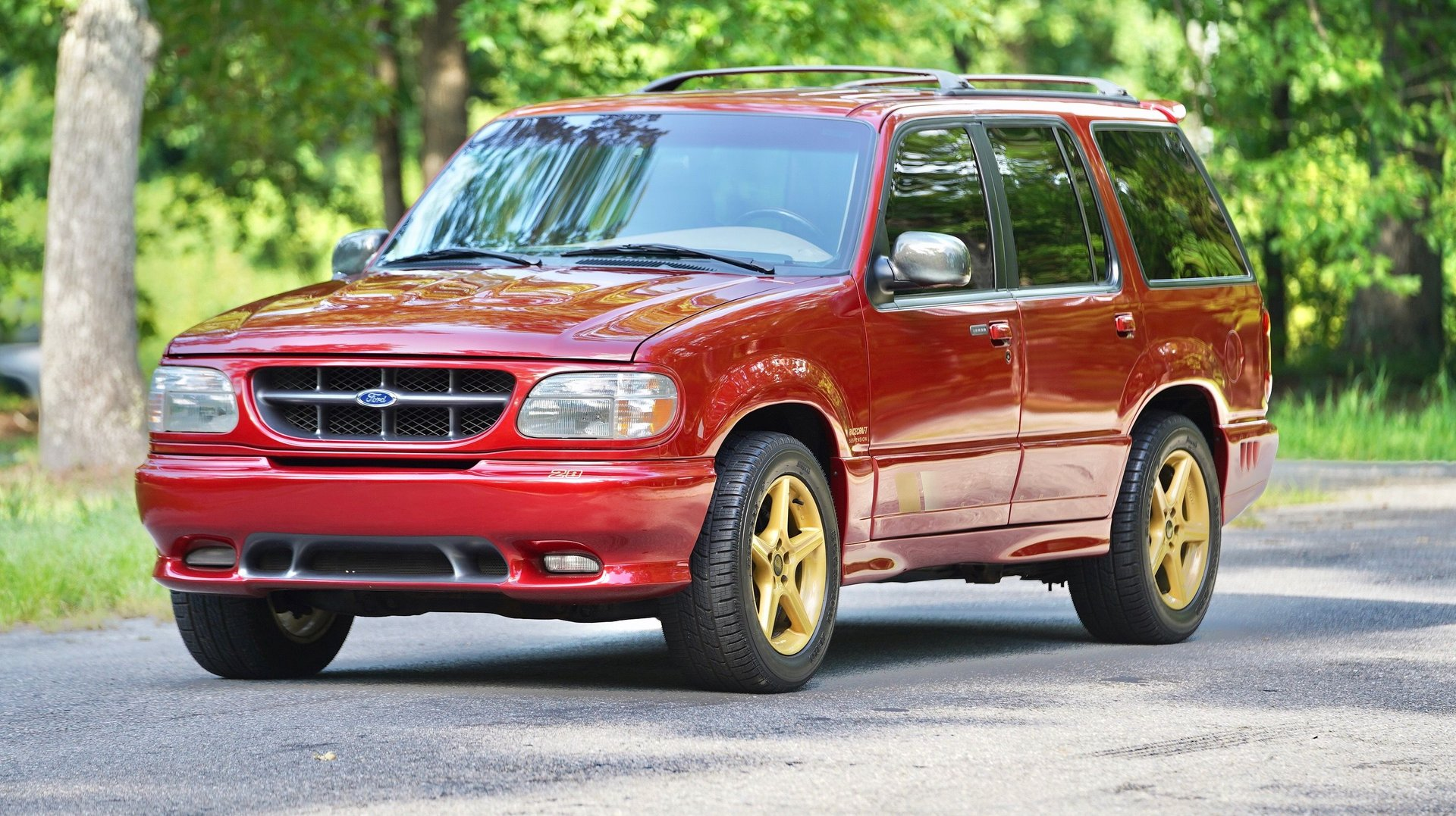 1998 ford explorer saleen xp8 supercharged