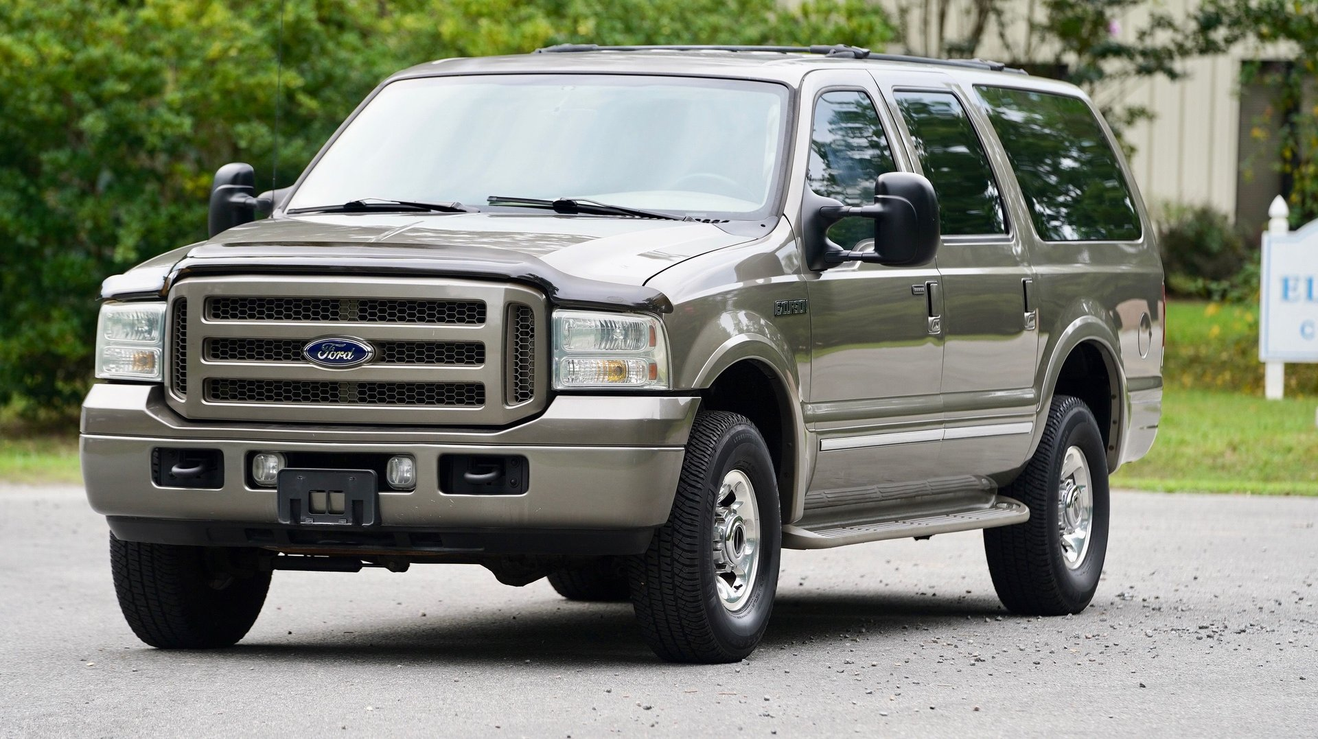 2005 ford excursion diesel limited
