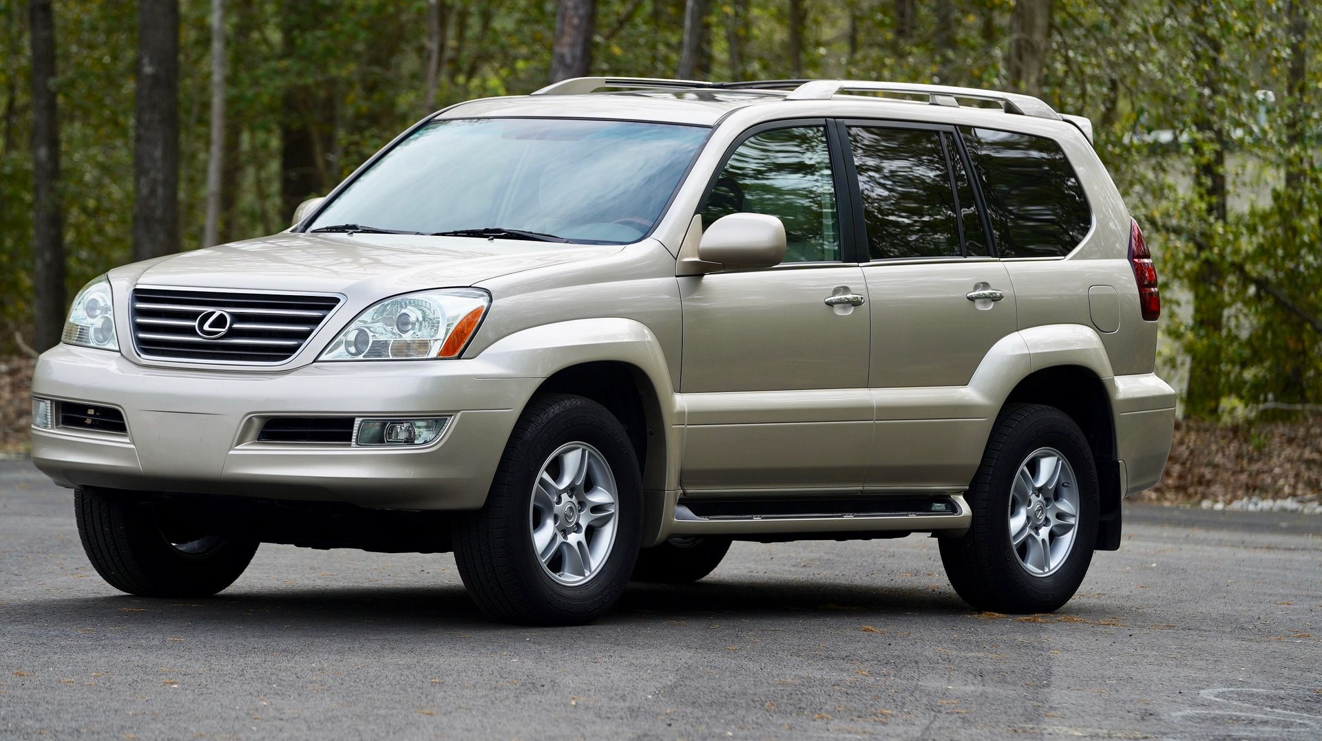 2008 lexus gx 470 4wd 4dr
