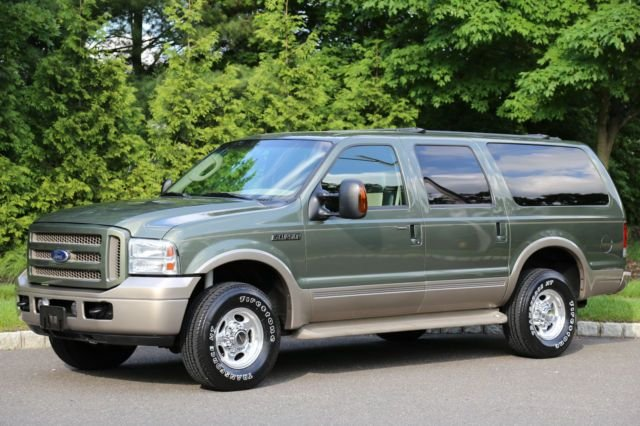 2005 ford excursion 137 wb 6 0l eddie bauer 4wd