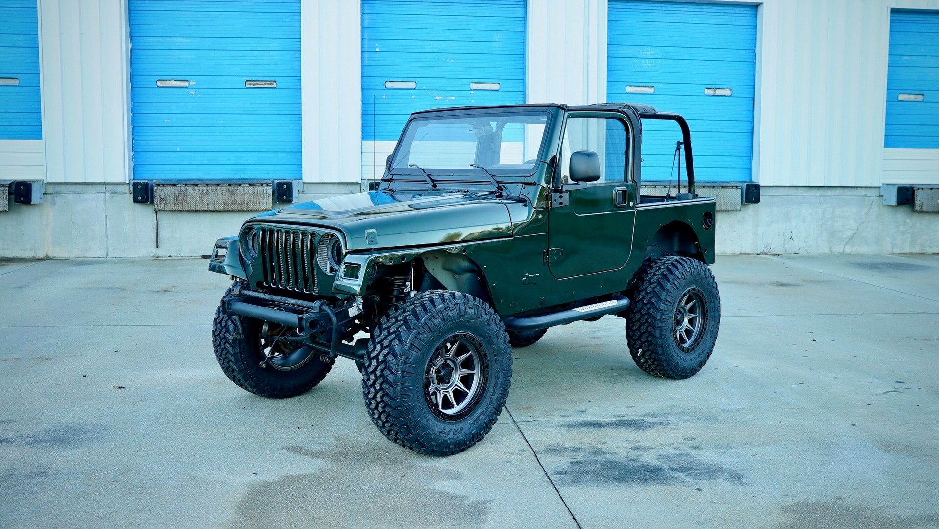 2005 jeep wrangler willys