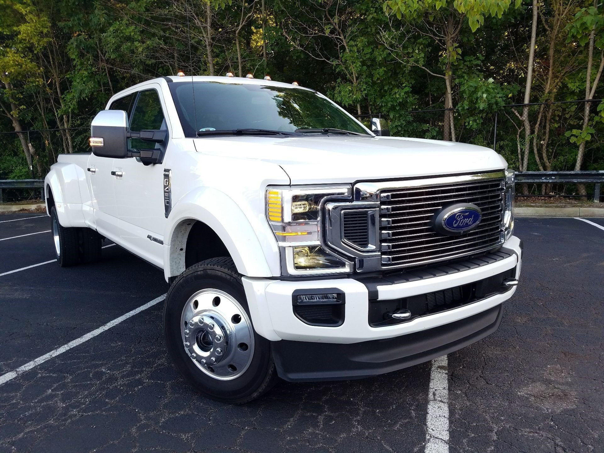 2020 ford super duty f 450 drw platinum