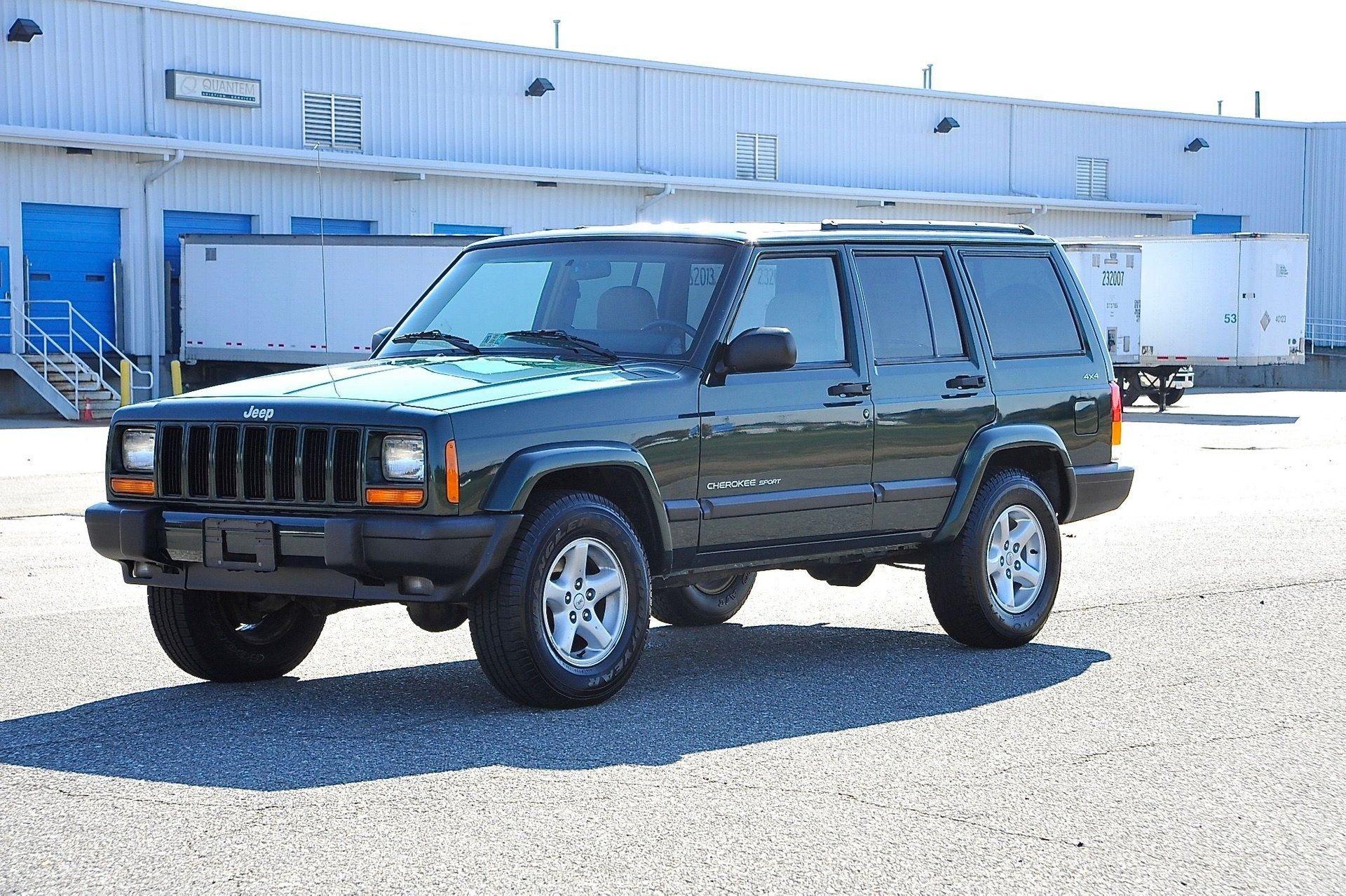2001 jeep cherokee 4x4 sport