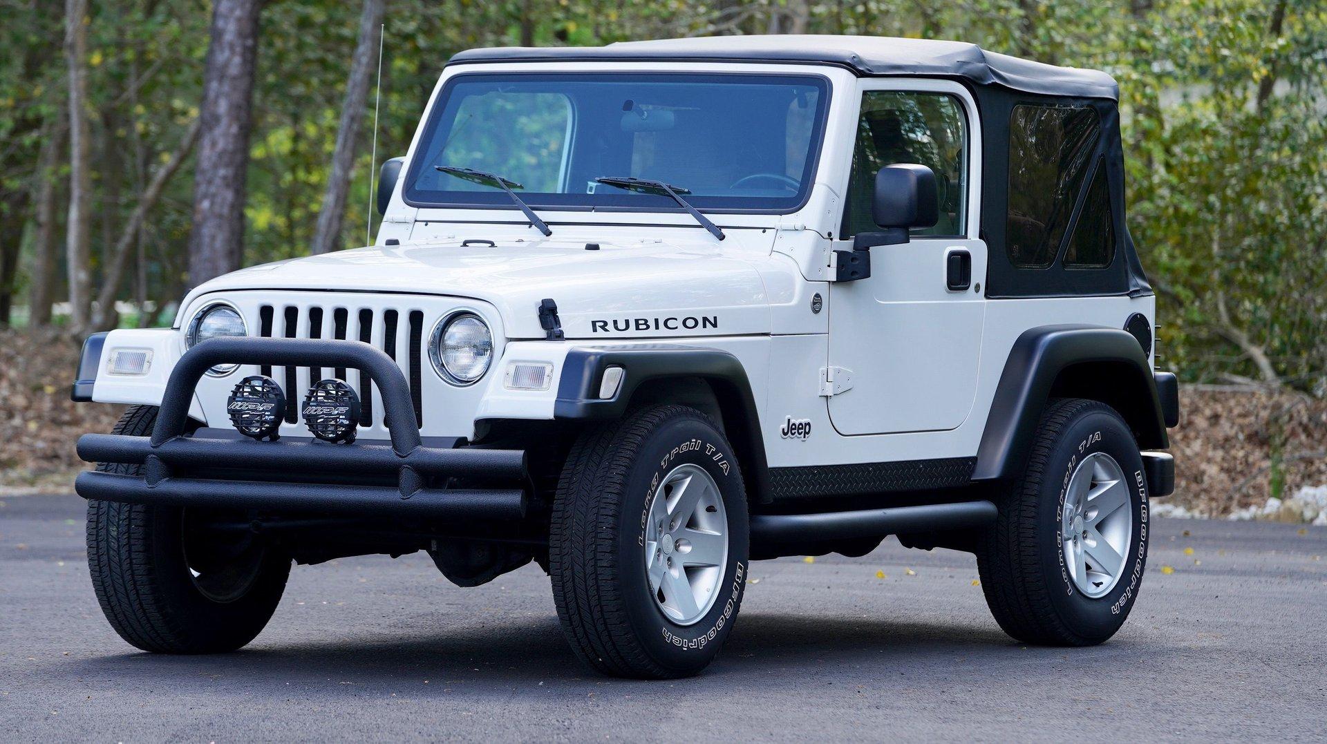 2005 jeep wrangler 2dr rubicon