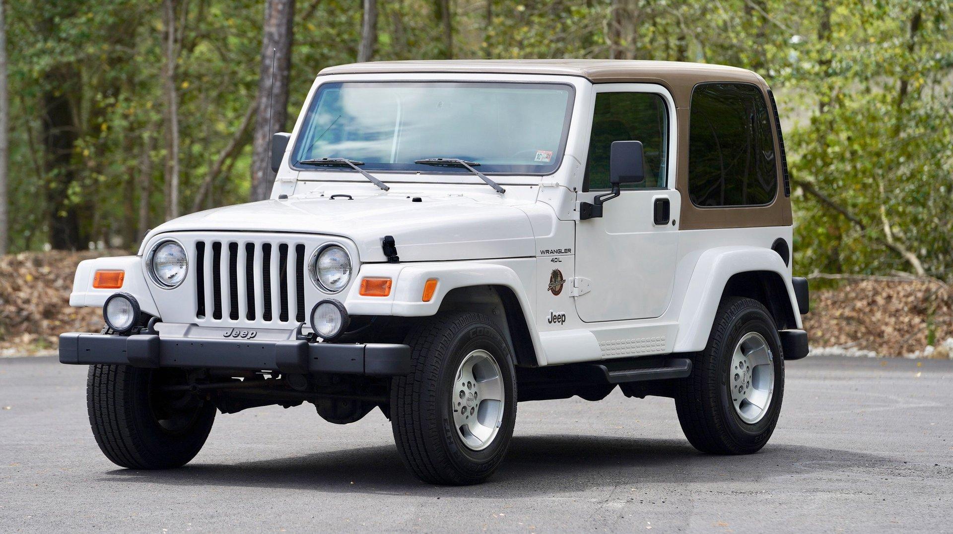 2001 jeep wrangler 2dr sahara