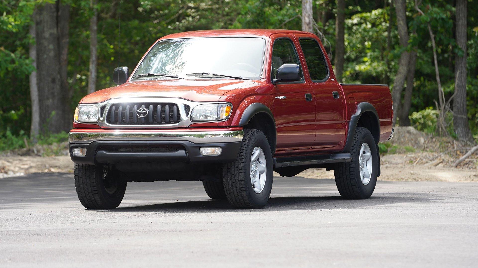 2002 toyota tacoma doublecab prerunner v6 auto natl