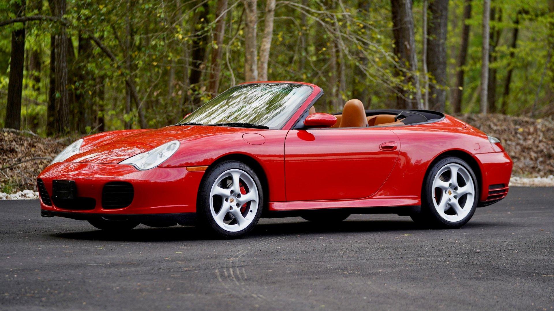 2004 porsche 911 4s cabriolet