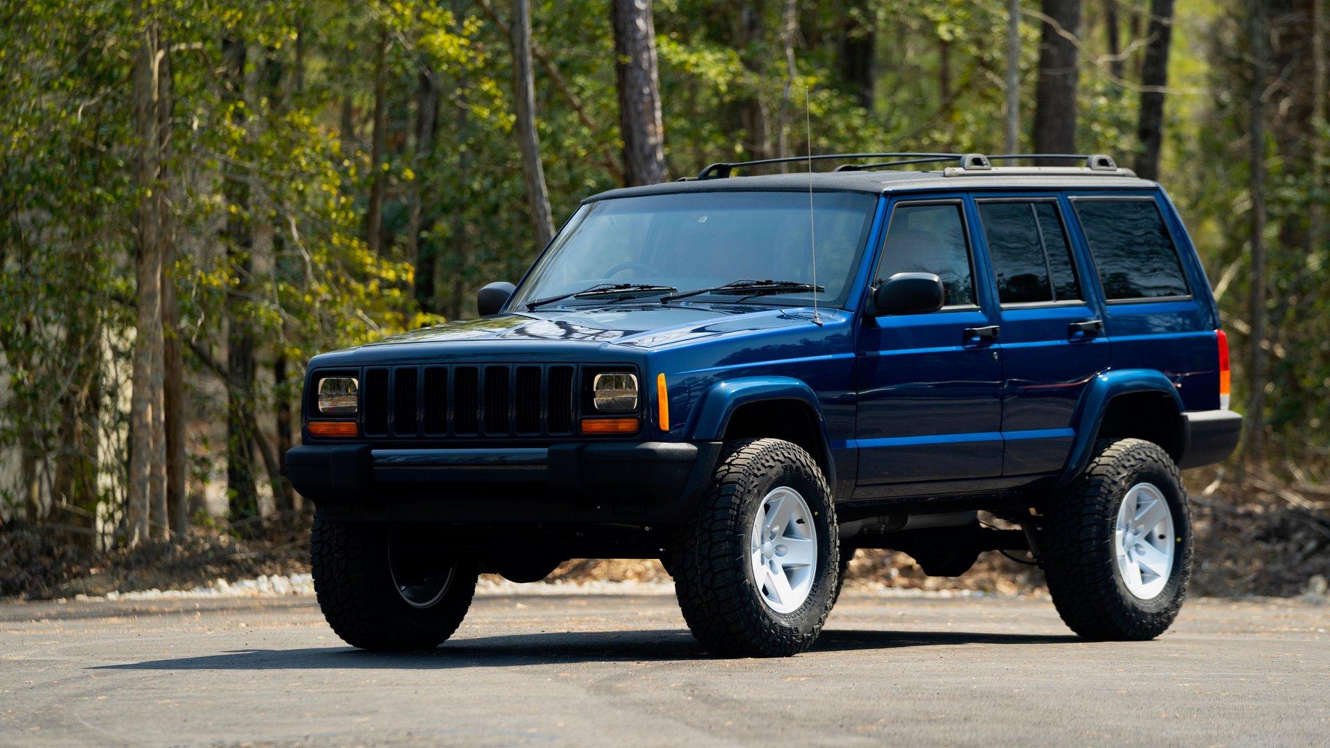 2001 jeep cherokee restored stage 2 xj