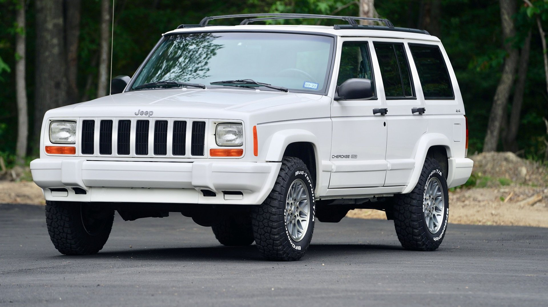 1997 jeep cherokee 4dr country 4wd