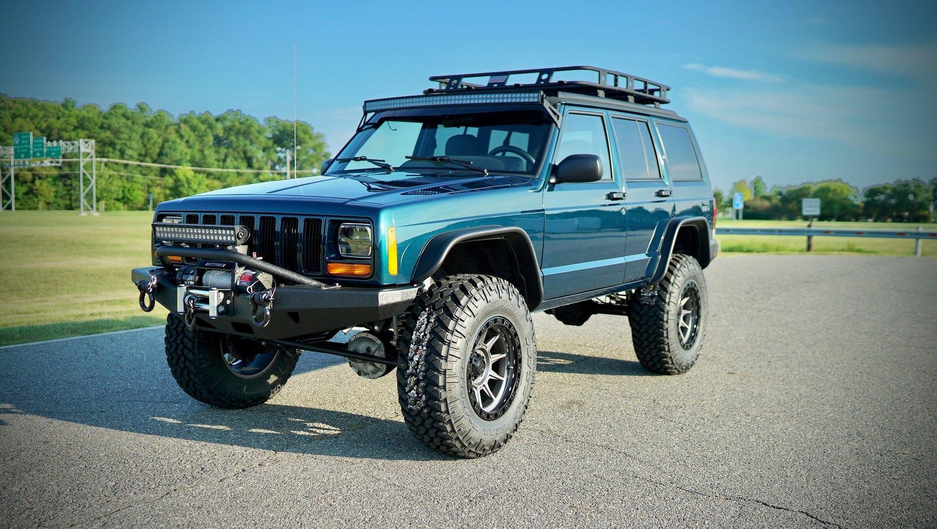 1998 jeep cherokee das stage 5