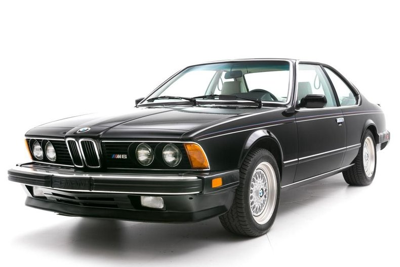 1987 bmw 6 series 2dr sedan m6