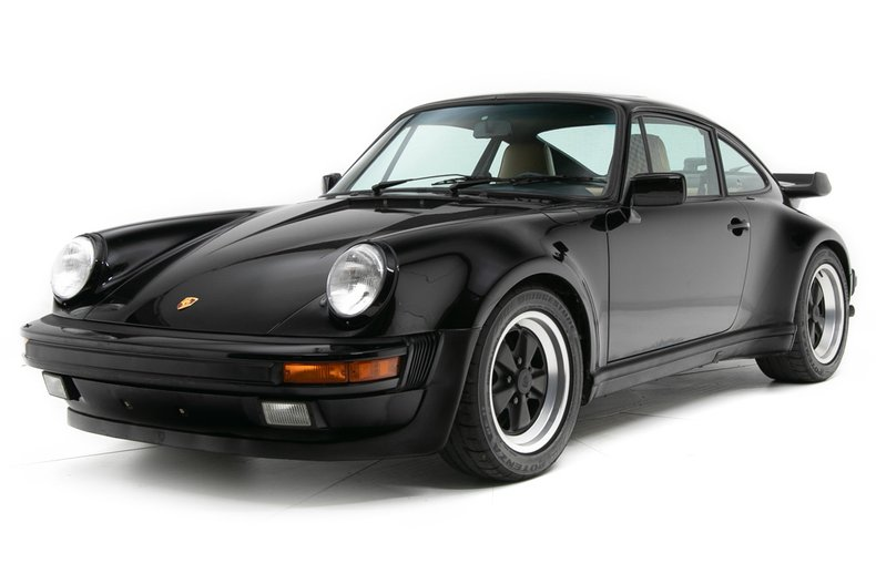 1987 porsche 911 2dr coupe 4 spd turbo