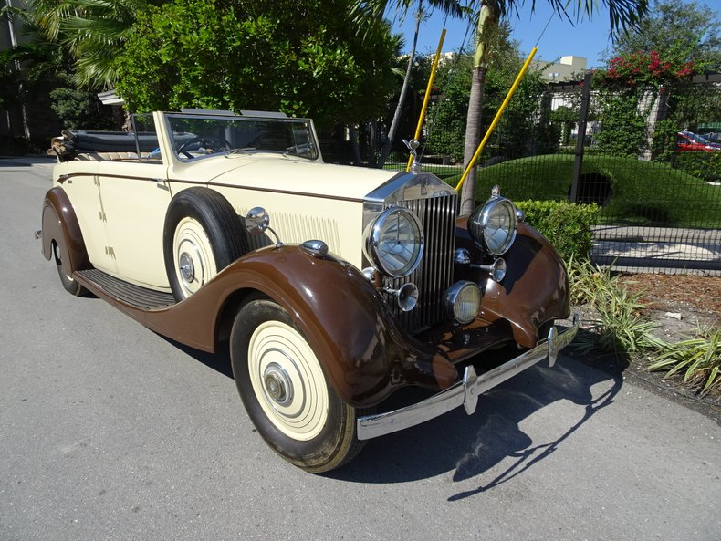 1938 Rolls-Royce 25/30 4 door DHC