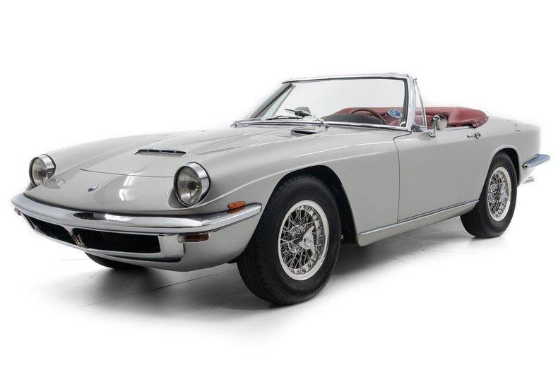 1968 Maserati Mistral 4000 Spyder