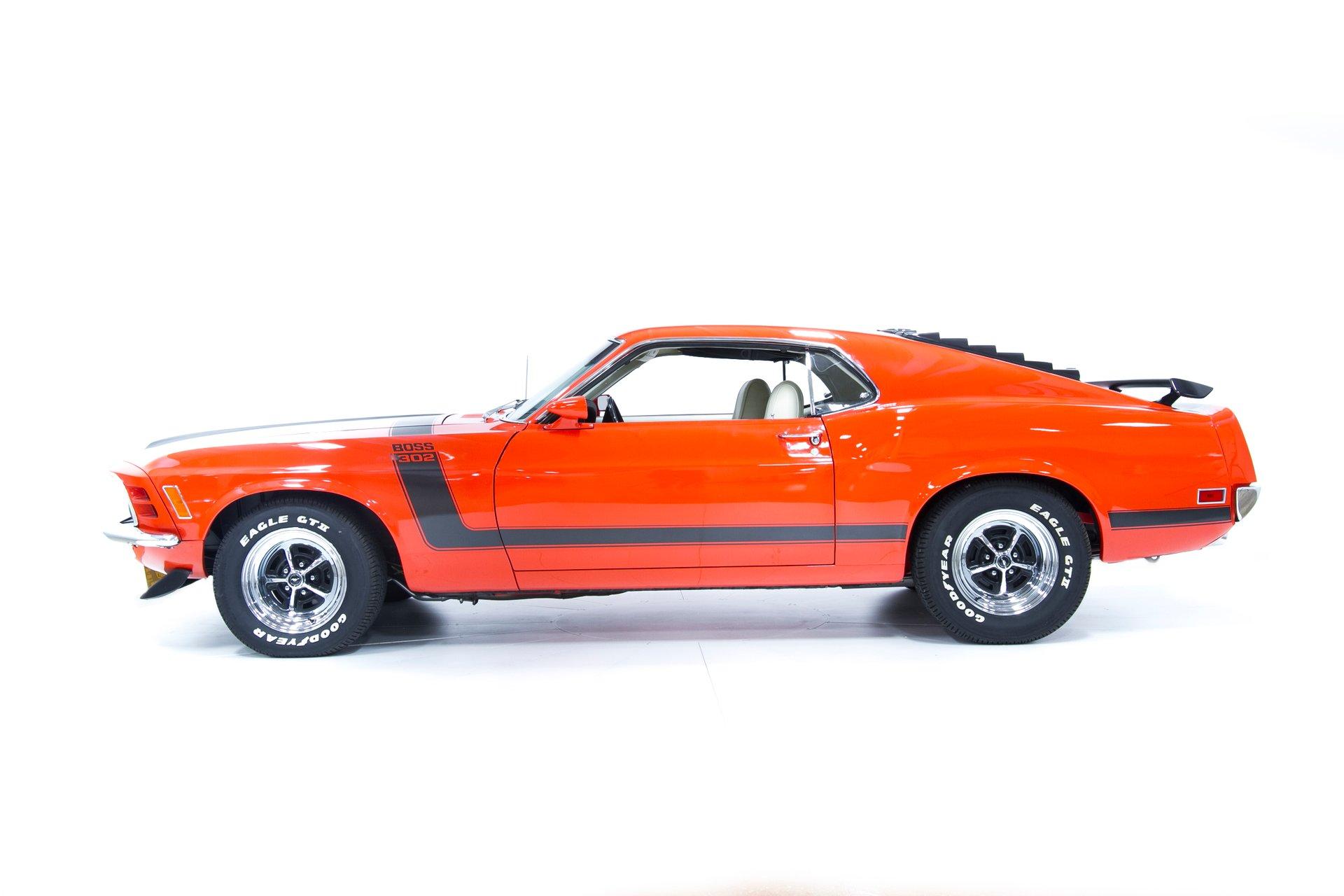 1970 Ford Mustang Boss 302 Motorcar Gallery
