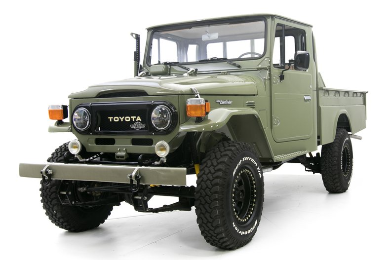 1978 Toyota Land Cruiser HJ-45 Long Bed Pickup