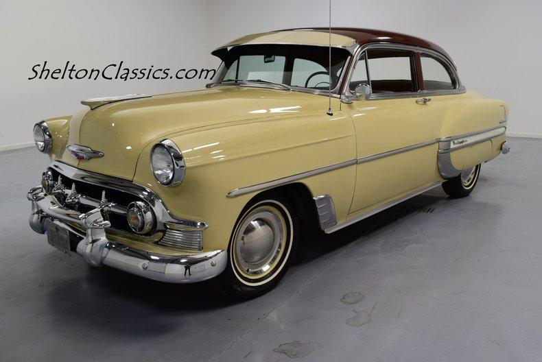 Bel Air Car >> 1953 Chevrolet Bel Air Shelton Classics Performance
