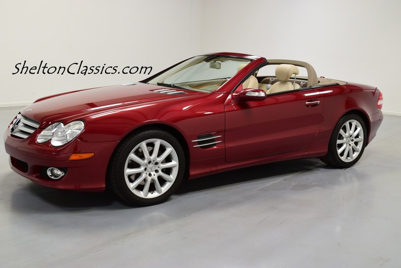 2007 Mercedes-Benz SL 550