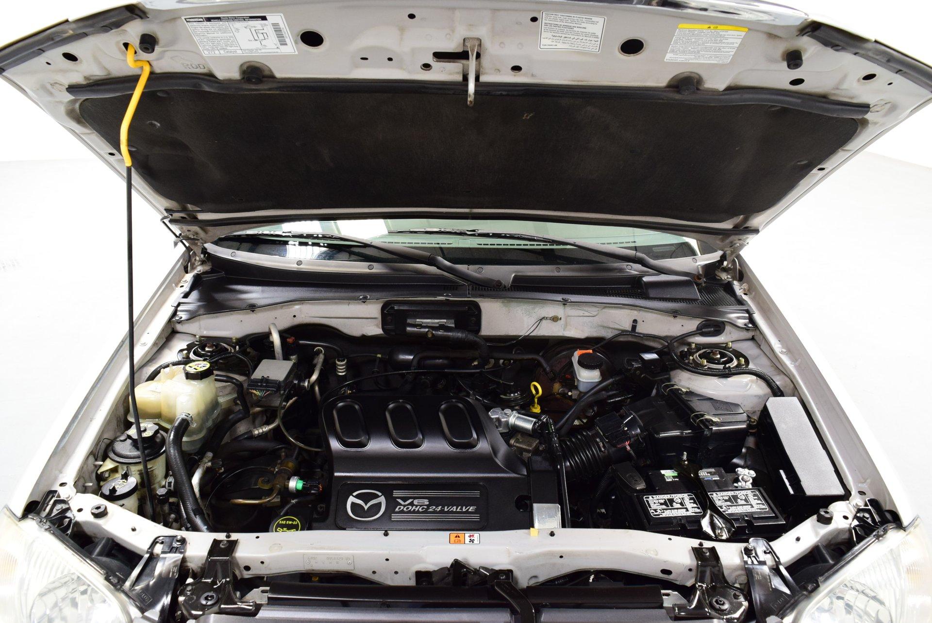 2001 Mazda Tribute Engine