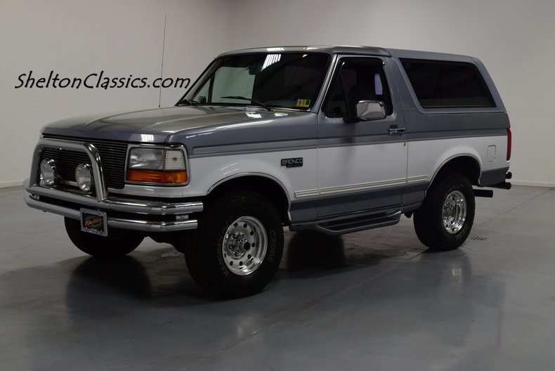1995 Ford Bronco >> 1995 Ford Bronco Xlt 4x4 For Sale 167734 Motorious