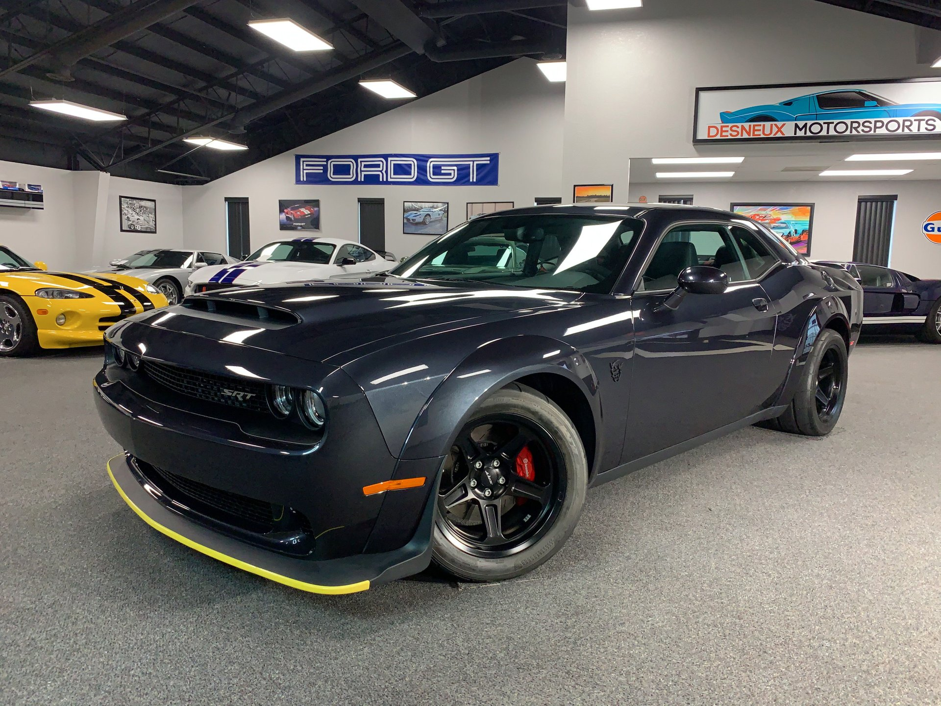 2018 dodge demon srt challenger