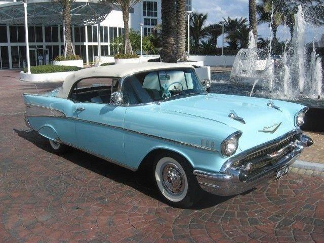 1957 Chevrolet BEL AIR Convertible