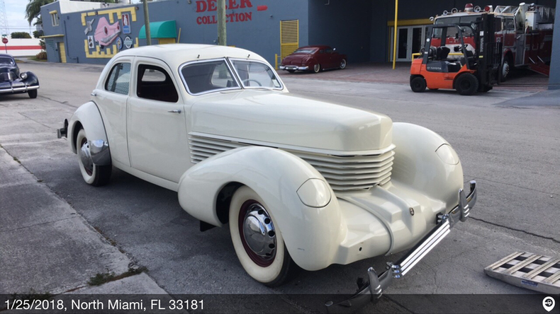 1937 Cord 812 BEVERLY For Sale