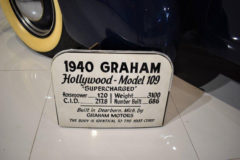 1940 Graham Hollywood