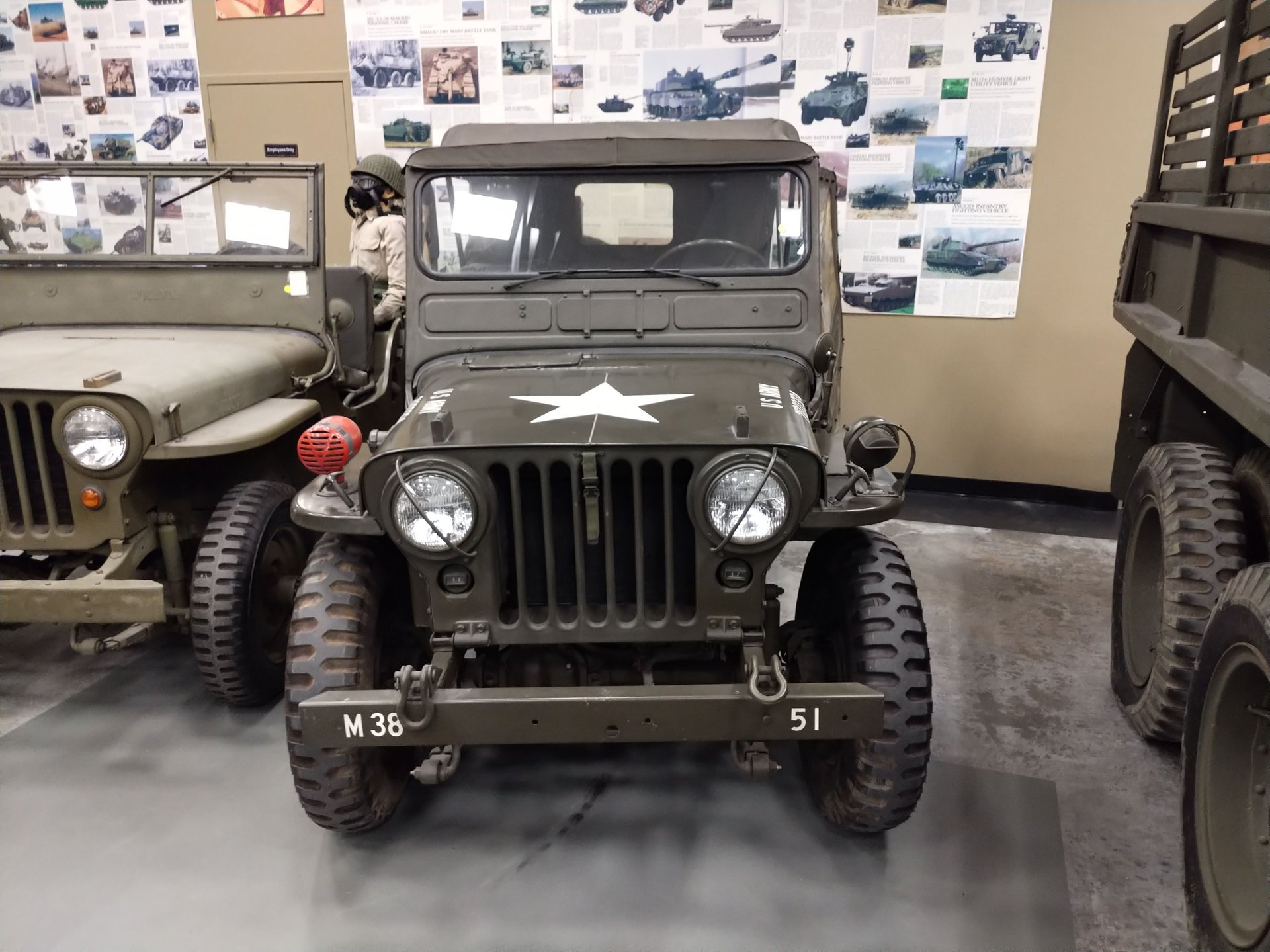 1951 willys jeep m38 military