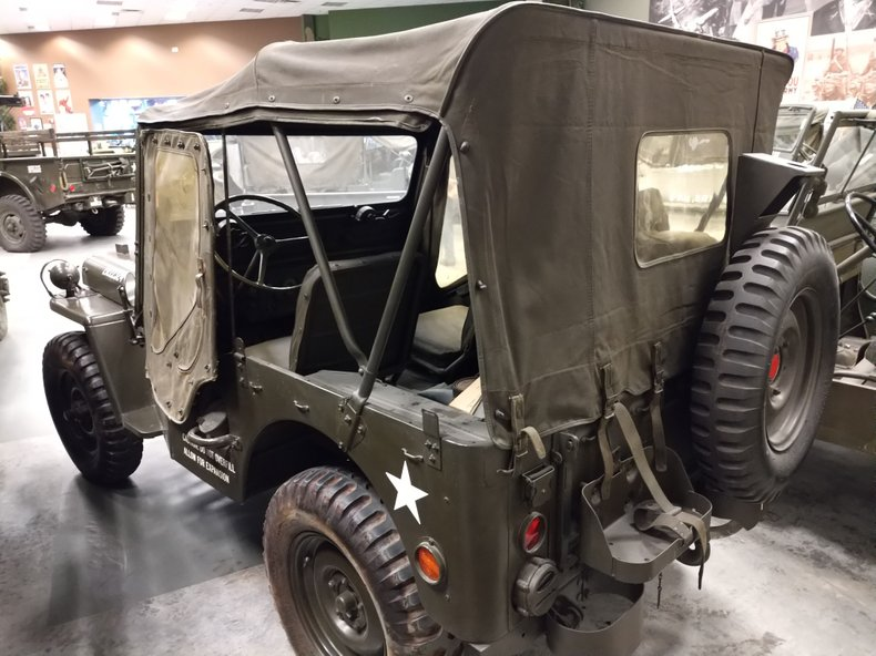 1951 WILLYS/JEEP M38 (MILITARY)