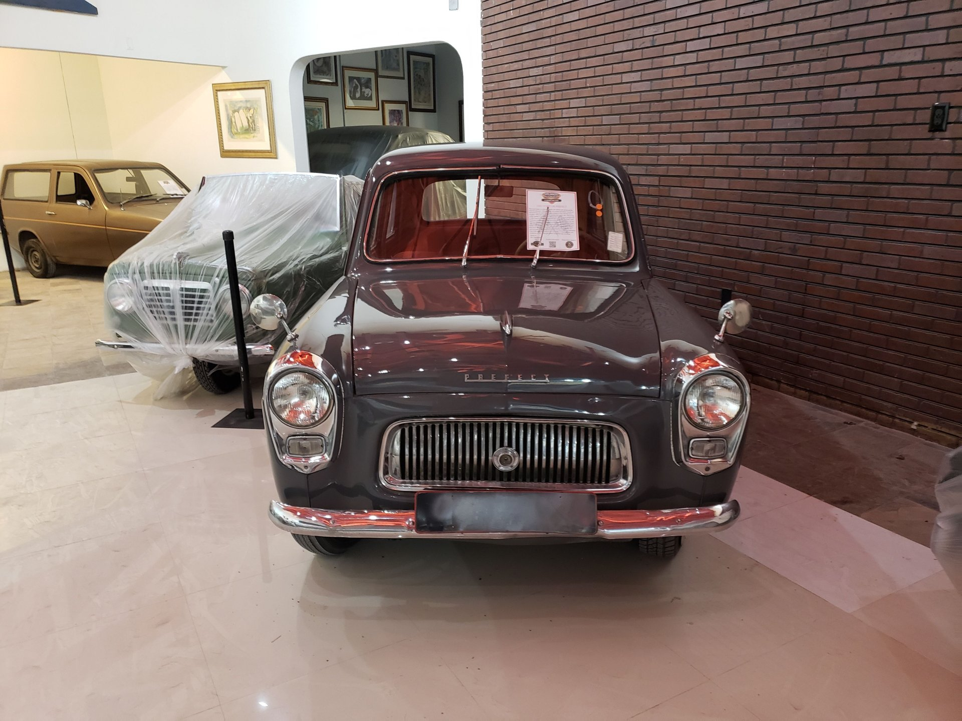 1957 ford uk prefect