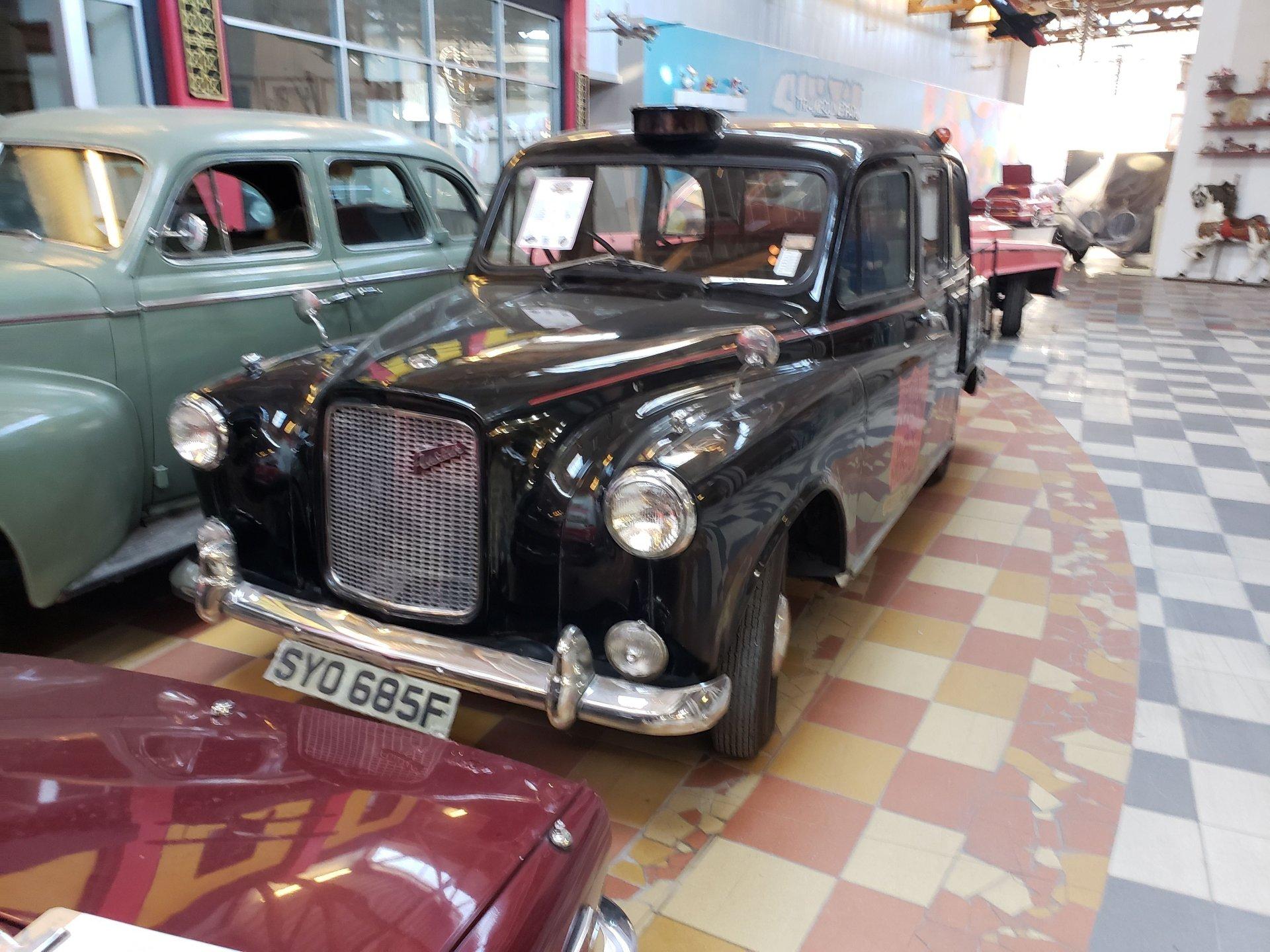 1967 austin taxi