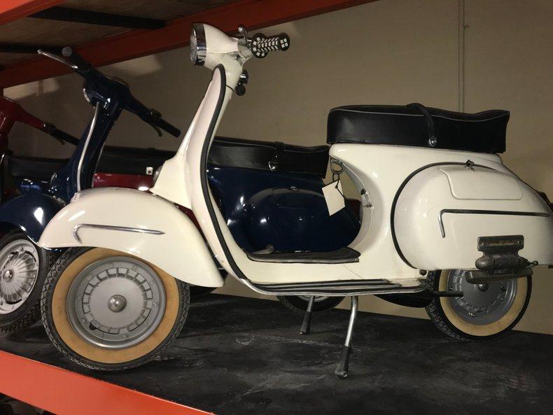 1954 PIAGGIO VESPA 125 & SIDECAR for sale #112656 | Motorious