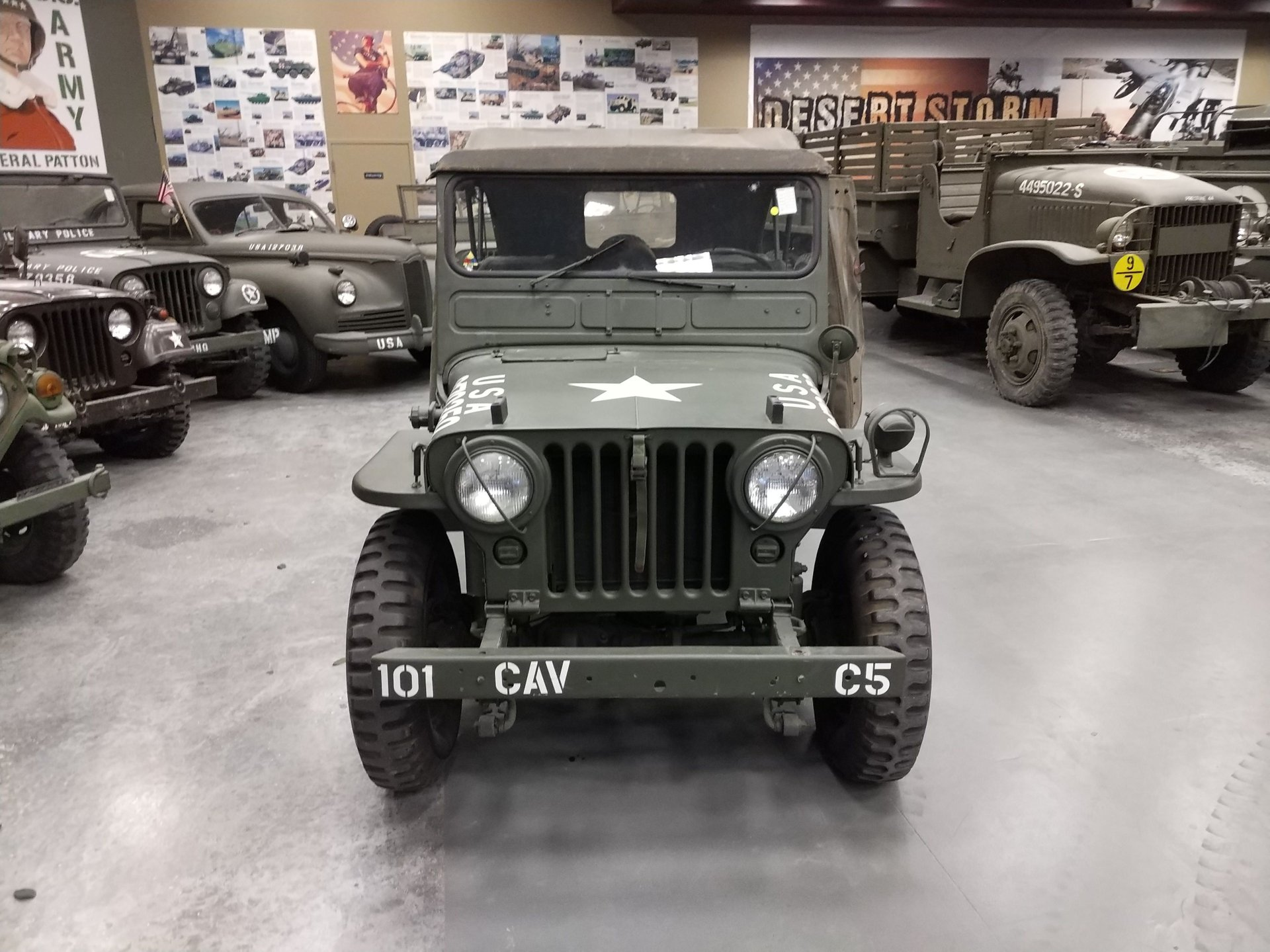 1952 willys jeep m38 military