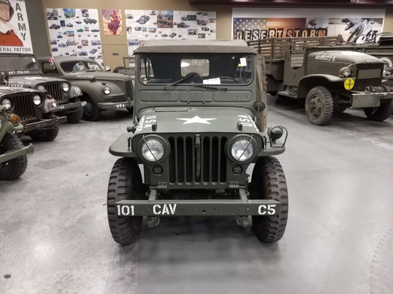 1952 WILLYS/JEEP M38 MILITARY
