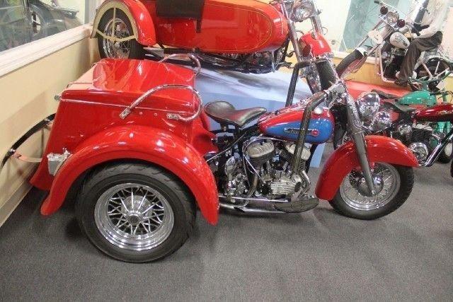 1950 Harley Davidson Trike