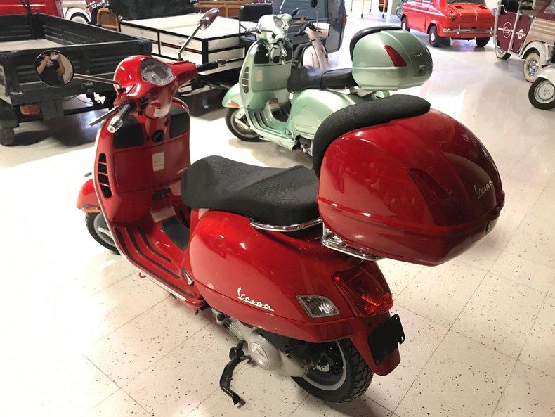 2007 VESPA GTS 250