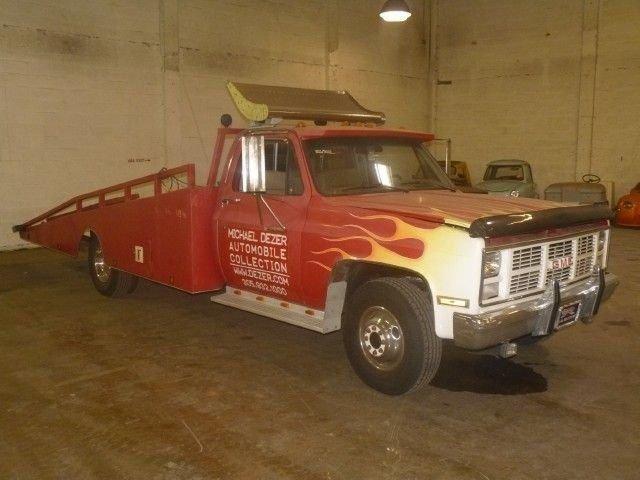 1985 gmc tow truck