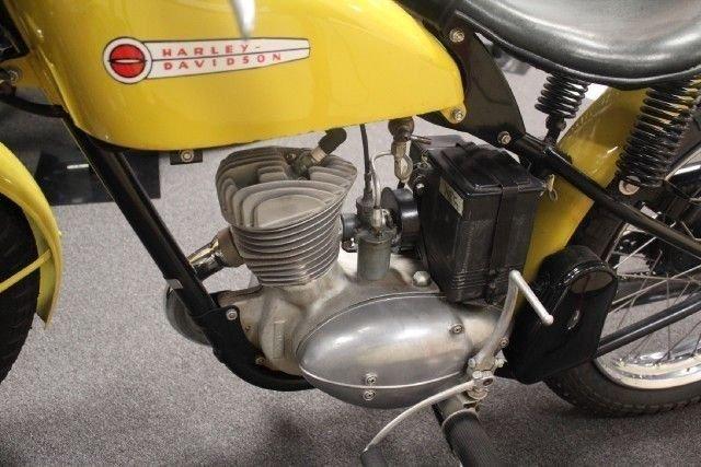 1956 Harley Davidson 165CC