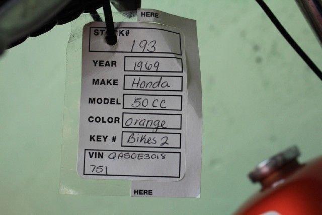 1969 Honda 50CC