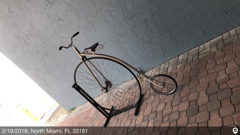 1890 boneshaker big wheel