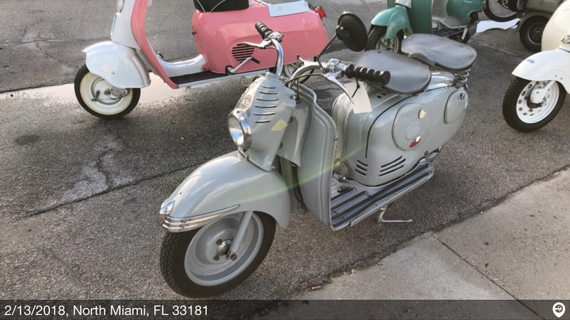 1958 puch condor tcs