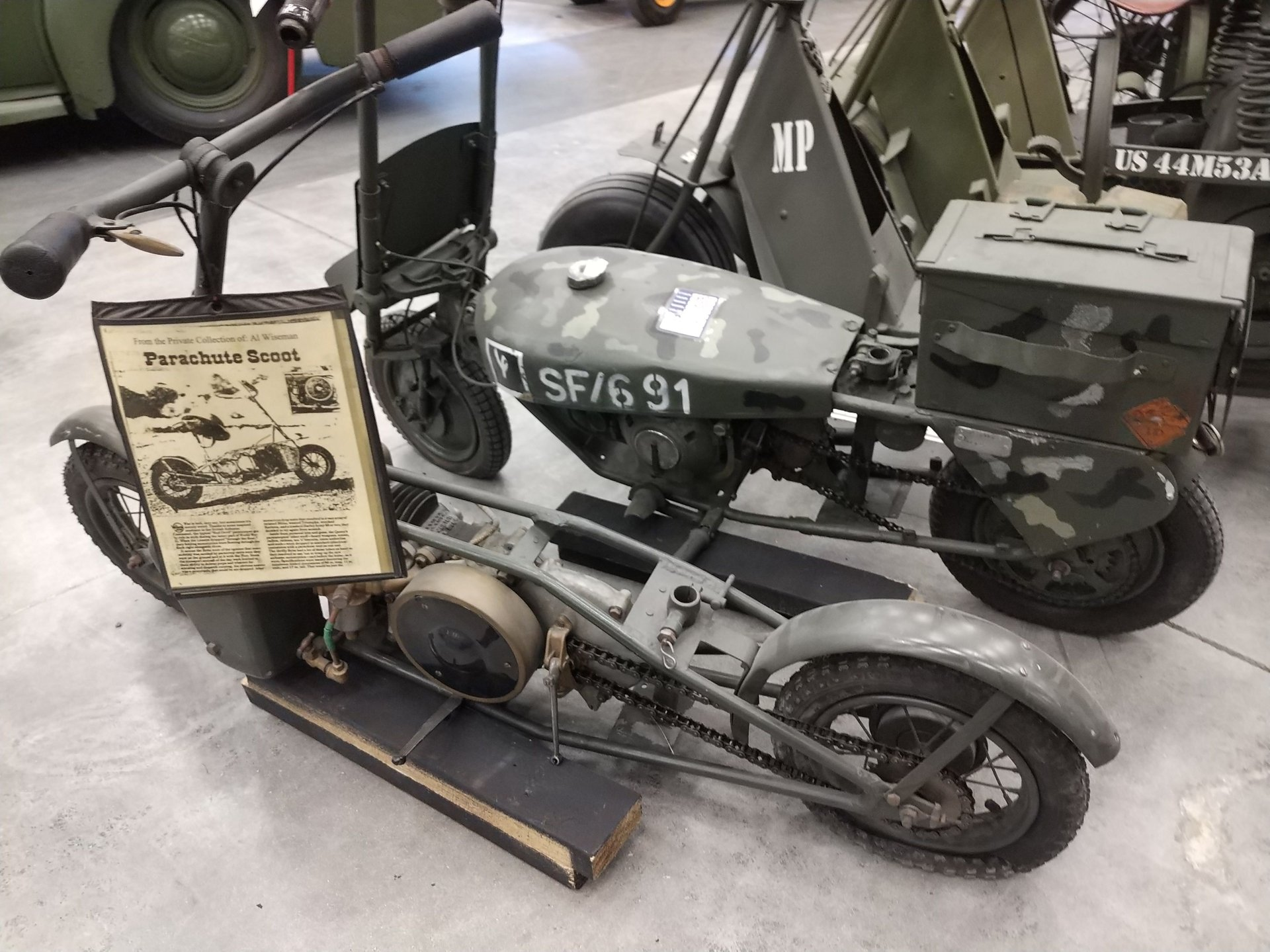 1943 excelsior welbike