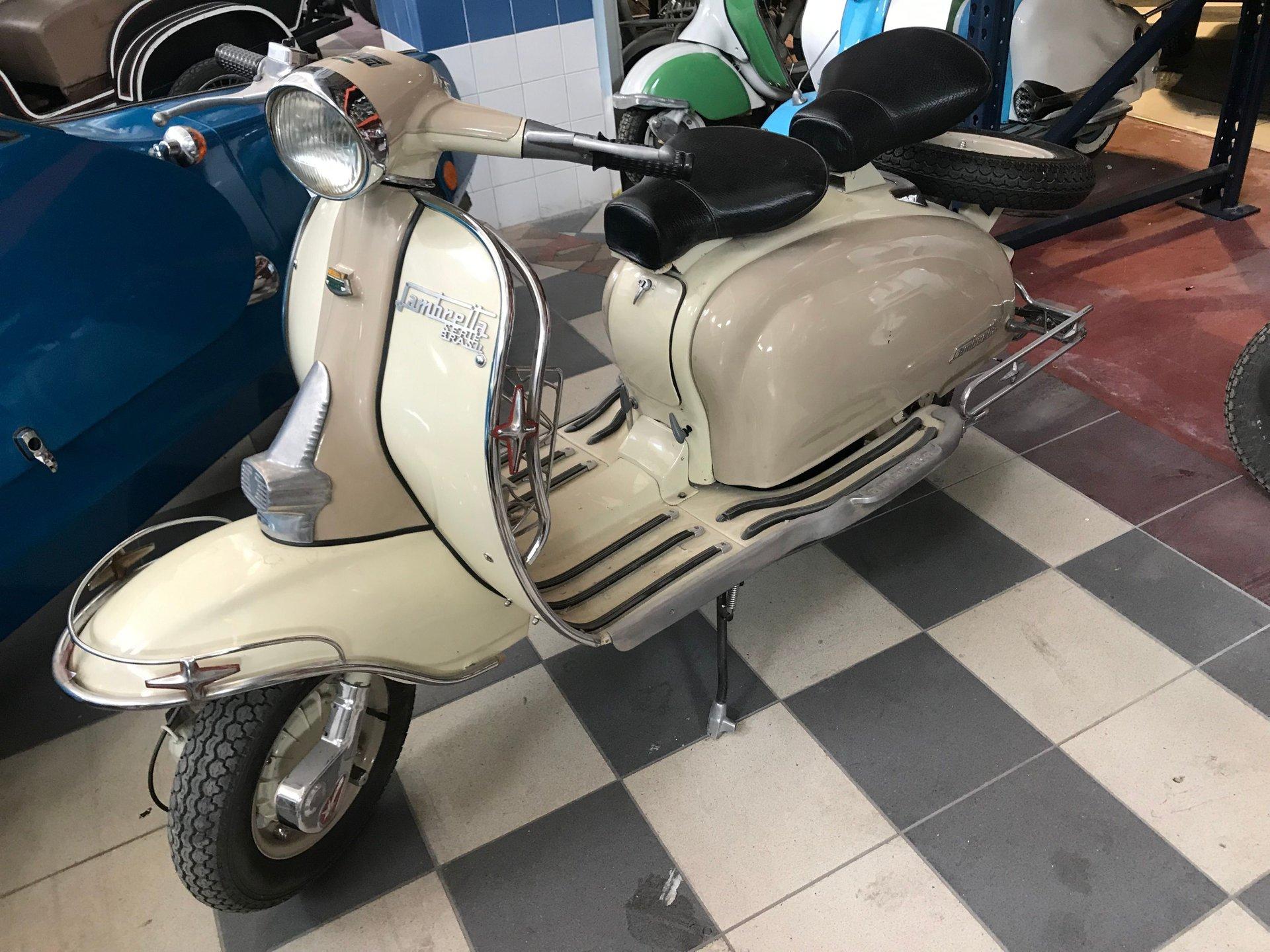 1963 lambretta x150 125cc