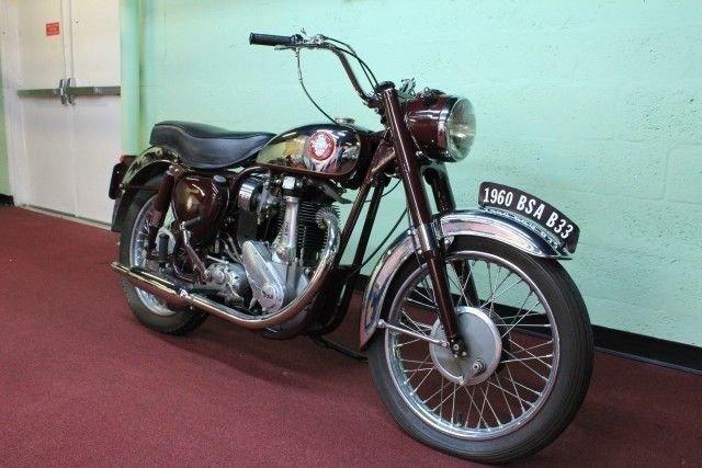 1960 BSA B33