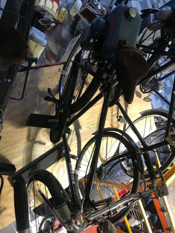 1951 raleigh bicycle mini motor
