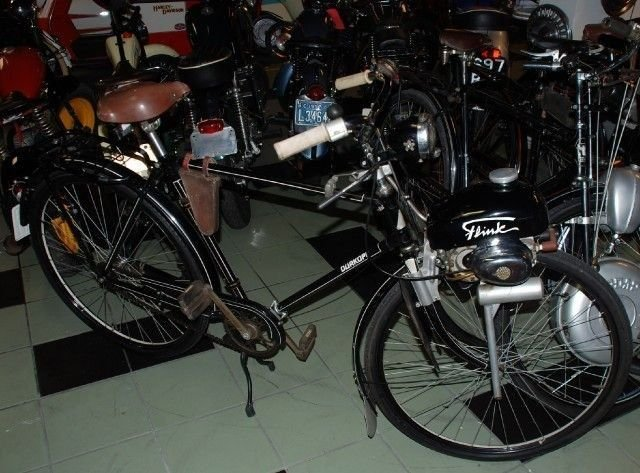1953 durkopp bicycle flink engine